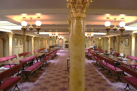 SS Great Britain Dining Saloon