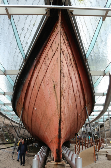 SS Great Britain Iron Hull in 2017