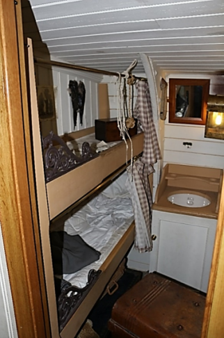 SS Great Britain Second Class Cabins